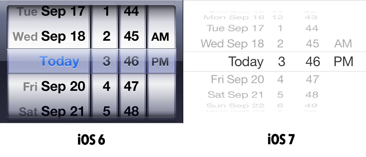 Календарь iOS 7, iOS 8